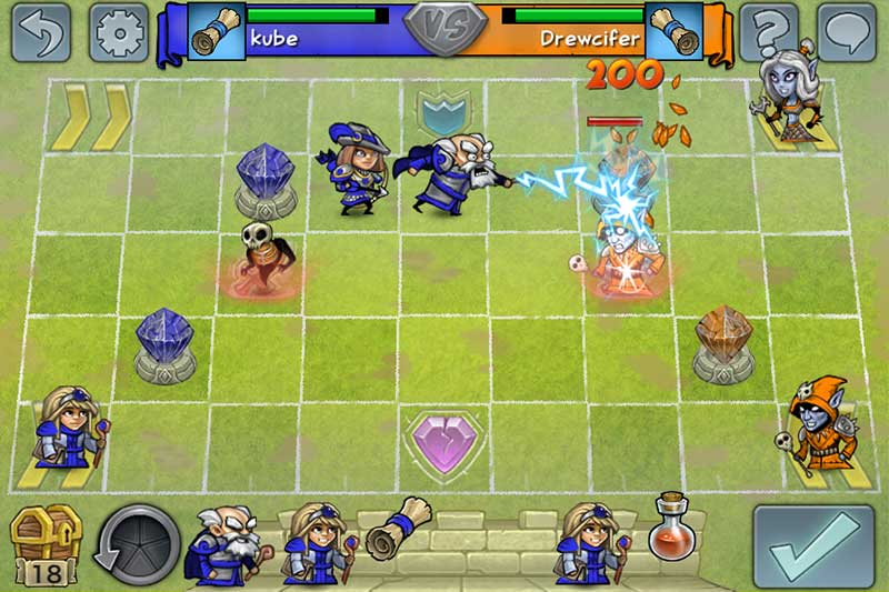 Hero Academy for iOS